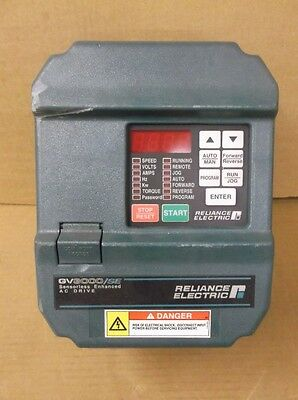 Reliance Electric 3V4160 3 HP Variable Frequency Drive GV3000/SE