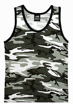 25b20ced28f9c9 City Urban Camo Tank Top Sleeveless Muscle Tee Camouflage Military Army 6601
