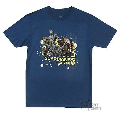 Guardians Of The Galaxy Star Map Marvel Comics Licensed Adult T-Shirt
