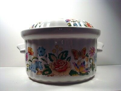 Aynsley HyStyles Oven to Tableware Covered Casserole Dish Pretty
