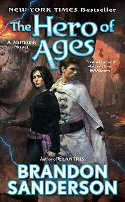 The Hero of Ages by Brandon Sanderson (English) Mass Market Paperback Book Free