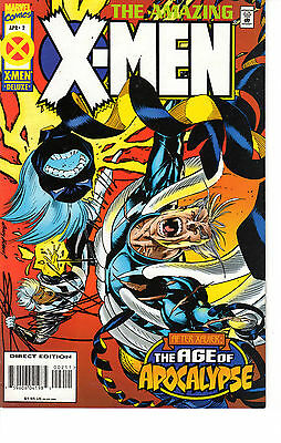 Amazing X-Men #2 April 1995 By Marvel Comics Age Of Apocalypse Very Fine (8.0)