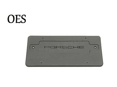 Porsche 911 Boxster Turbo 2001-2005 License Plate Bracket OES
