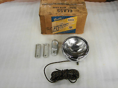 "30s 40s 50s CHEVROLET HARLEY BUICK PONTIAC OLDS GUIDE 5"" 2025-A FOG LIGHT LAMP"