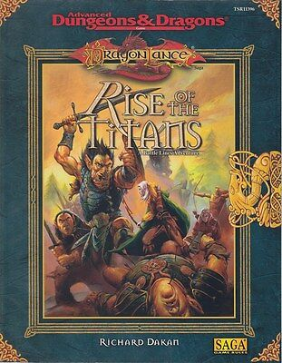Advanced Dungeons & Dragons: Dragonlance - Rise of the Titans (engl.)