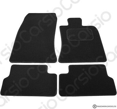 BMW Mini r56 2006 - 2014 Tailored Black Car Floor Mats Carpets 4pc Set