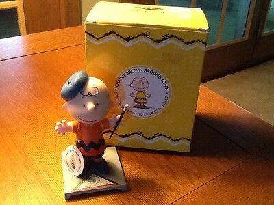 Charlie Brown Around Town ~ Impressionist Charlie ~ Peanuts ~ Snoopy, New/Box