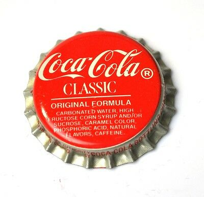 Coca-Cola Classic Coke Kronkorken USA Bottle caps rot Original Formula