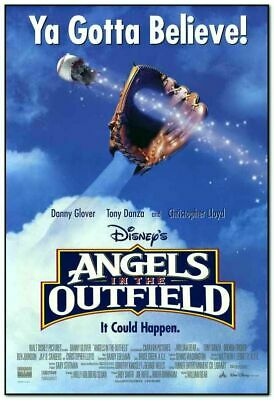 ANGELS IN THE OUTFIELD - 1994 - Original 2-SIDED 27x40 movie poster - BASEBALL