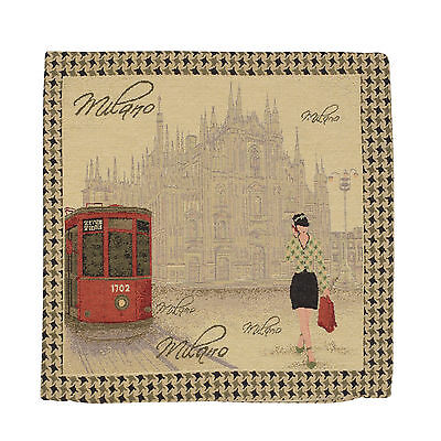 "Wholesale Job Lot 10x Cushion Covers Designer ""Milano"" Tapestry 18"" (45cm) New"
