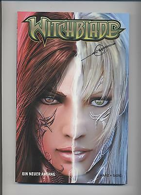 WITCHBLADE # 1 VARIANT B - **signiert** SEJIC - COMIC ACTION 2009 - TOP