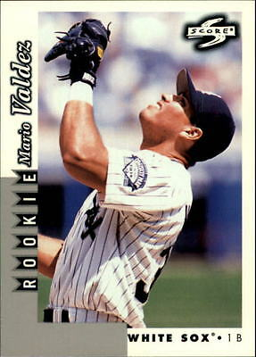 1998 Score Rookie Traded #243 Mario Valdez