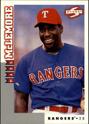 1998 Score Rookie Traded #69 Mark McLemore