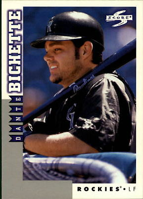 1998 Score Rookie Traded #130 Dante Bichette