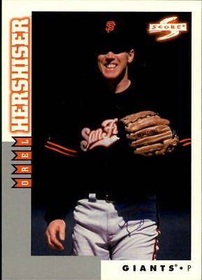 1998 Score Rookie Traded #175 Orel Hershiser