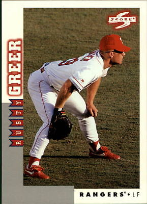 1998 Score Rookie Traded #218 Rusty Greer