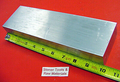 "1"" X 3-1/2"" ALUMINUM 6061 FLAT BAR 10"" long T6511 Solid Plate Mill Stock 1.00"""