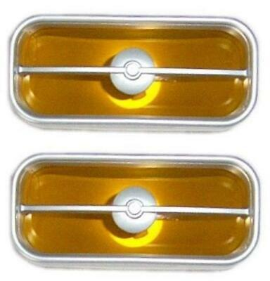 71-72 Mustang Mach 1 Sport Grille Lamps, Pair