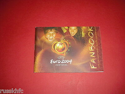 2004 Euro Official Tournament Programme - Fanbook Guide