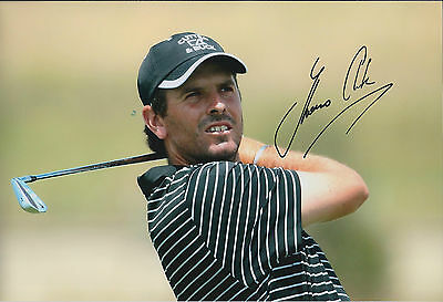 Thomas AIKEN SIGNED Golf Autograph 12x8 Photo AFTAL COA South African WINNER