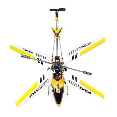 NEW Syma Yellow S107G Metal 3Ch gyro Gyroscope RC Remote Control Mini Helicopter