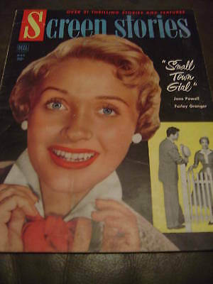 SCREEN STORIES March, 1953 Jane Powell _The JAZZ SINGER / Moulin Rouge