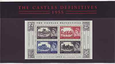 Great Britain / UK Presentation Pack #69: Castle Definitives 1955, 2005 issue