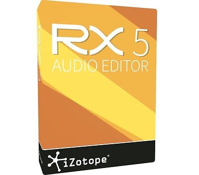 Izotope Rx 5 Complete Audio Repair - Electronic License Delivery *make An Offer*