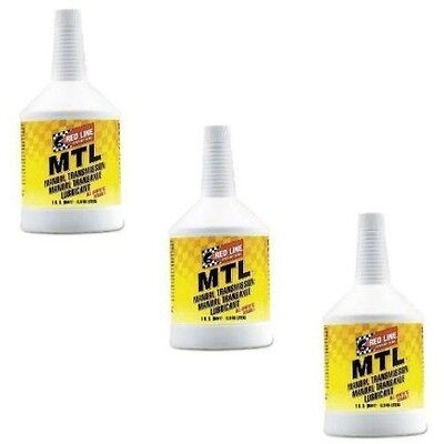 Red Line Oil Synthetic Manual Transmission Lubricant MTL GL-4 75W80 (3 Quarts)