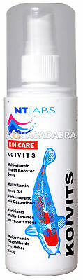 NT LABS 125ml KOI VITS MULTIVITAMIN SPRAY FOR POND FISH FOOD VITAMIN SUPPLEMENT