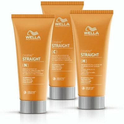 Wella Creatine Straight N Intense Normal/Resistant Hair Mild Coloured