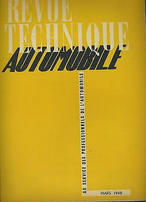(C2)REVUE TECHNIQUE AUTOMOBILE SIMCA - FIAT 6CV / Moteur Diesel CUMMINS
