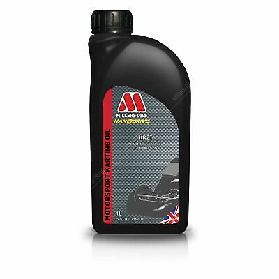 Millers Fully Synthetic KR2T CIA-FIA Approved Rotax Oil 1L UK KART STORE