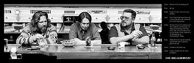 THE BIG LEBOWSKI - QUOTE poster print 12 x 36