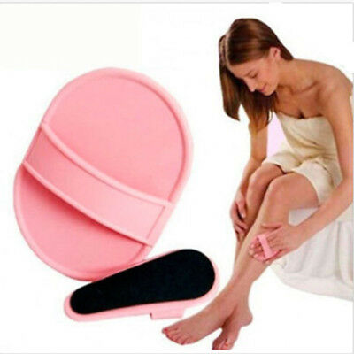 Hot Face Arm Skin Smooth Legs Sheer Painless Hair Buffer Exfoliator Removal Pads