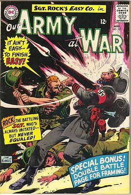 Our Army At War Comic Book #157, DC Comics 1965 FINE-