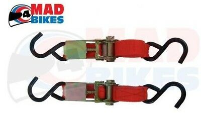 R&g Racing Ratchet Straps, High Quality Motorcycle / Motorbike Tie Down Straps