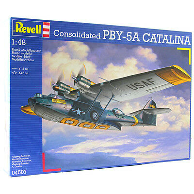 Revell 04507 Consolidated PBY-5A CATALINA (Scale 1:48) Model Kit NEW