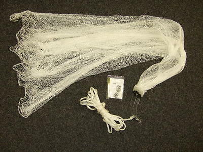 Cast Net 10ft Spread for Hand Casting (Throw To Catch Live Bait Fish)