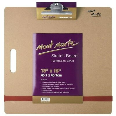 Mont Marte Sketch Board with Clips Medium