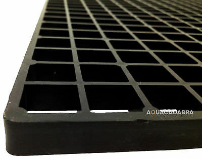 Square Cut Filter Box Grids Egg Crate Fish Coral Aquarium Marine Tank Koi Pond