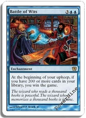 Magic: The Gathering, MTG) Losse kaarten Blue Odyssey Mtg Magic Rare 4x x4 4 PLAYED Battle of Wits
