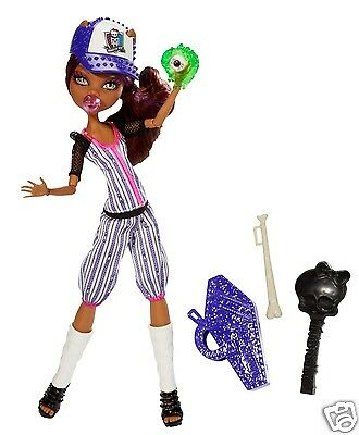 Monster High GHOUL SPORTS CLAWDEEN WOLF DOLL NEW in HAND