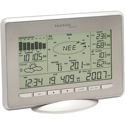 TECHNOLINE WS2800-IT Internet-Wetterstation mit USB-Stick und Solar-Sensoren