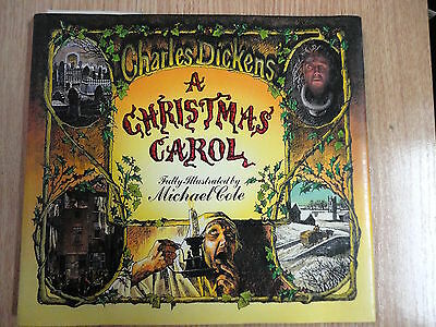 A Christmas Carol,Ilustrated by Michael Cole,Ed.Pagoda Books 1985 (INGLES)