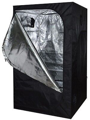 48x48x78 Reflective Mylar Hydroponics Indoor Grow Tent Non Toxic Box Window Room