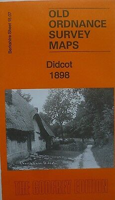 Old Ordnance Survey Maps Didcot Berkshire 1898  Sheet 15.07 Godfrey Edition New