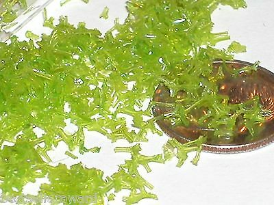 1 small bag Fun Green Seaweed Grass food Easter dollhouse miniature for bottle