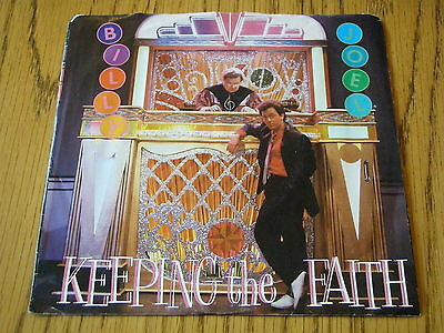"Billy Joel - Keeping The Faith     7"" Vinyl Ps"