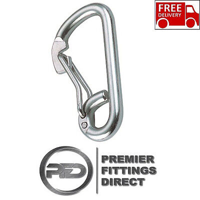 316 Stainless Steel Spring Snap Hooks 8Mm/10Mm/12Mm Carabiner, Climbing/hiking
